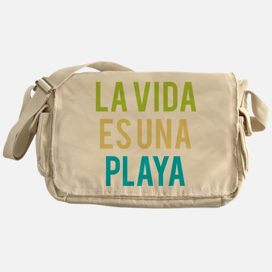 Life's a Beach Messenger Bag