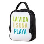 Life's a Beach Neoprene Lunch Bag