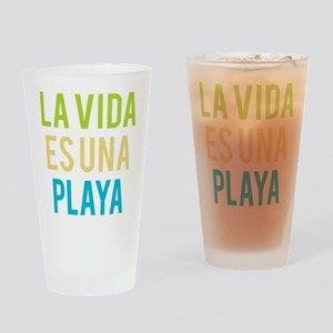 Life's a Beach Drinking Glass