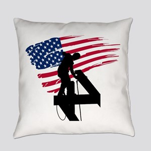 Ironworker Everyday Pillow