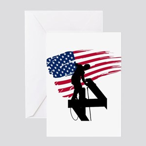Ironworker Greeting Cards