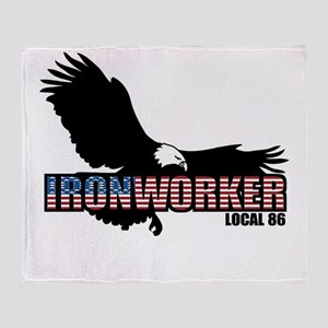 Ironworker Throw Blanket