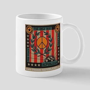 Pro Peace Republican Mug
