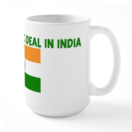 IM KIND OF A BIG DEAL IN INDI Large Mug