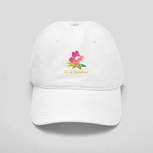 75 & Fabulous Flower Cap