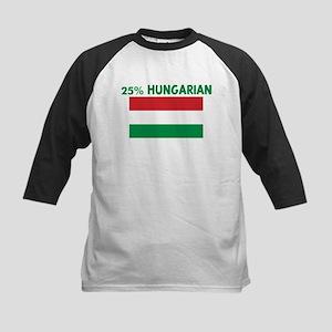 25 PERCENT HUNGARIAN Kids Baseball Jersey