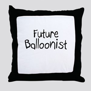Future Balloonist Throw Pillow