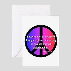 Peace Greeting Card