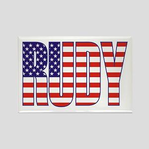Rudy Giuliani Presidential Flag Rectangle Magnet