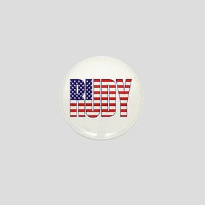 Rudy Giuliani Presidential Flag Mini Button