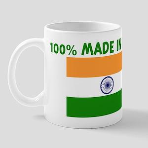 100 PERCENT MADE IN INDIA Mug