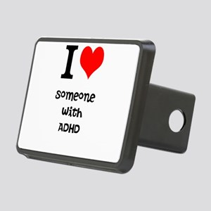 I love someone with ADHD Hitch Cover