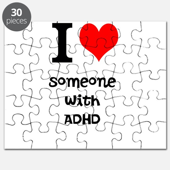I love someone with ADHD Puzzle