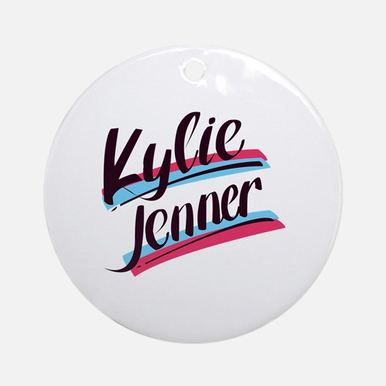 Cute Kendall Round Ornament
