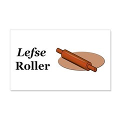 Lefse Roller Wall Decal