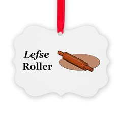 Lefse Roller Ornament
