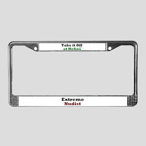 H.N.A. License Plate Frame