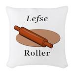 Lefse Roller Woven Throw Pillow