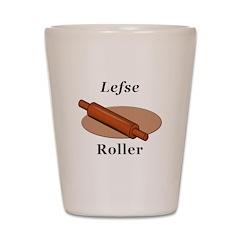 Lefse Roller Shot Glass