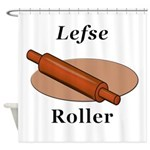 Lefse Roller Shower Curtain
