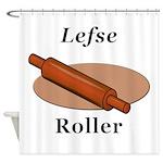 Lefse Roller Shower Curtain