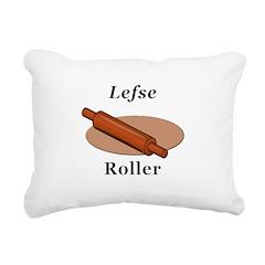 Lefse Roller Rectangular Canvas Pillow