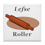 Lefse Roller Tile Coaster