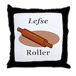 Lefse Roller Throw Pillow