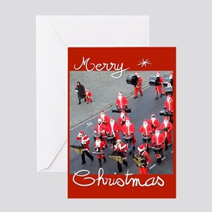 """Santa claus... kid"" Greeting Card"