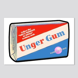 UNGER GUM - Postcards (Package of 8)