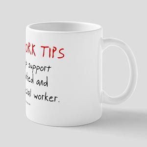Social Work Tips Mug
