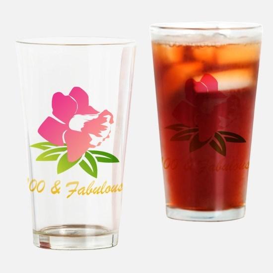 Unique 100 birthday Drinking Glass