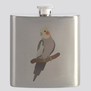 Cockatiel Flask