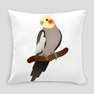 Cockatiel Everyday Pillow
