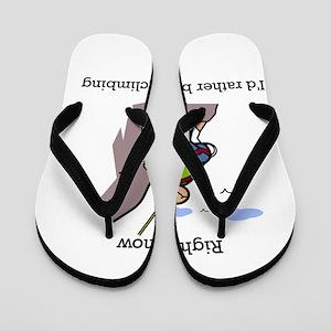 Rock Climbing designs Flip Flops