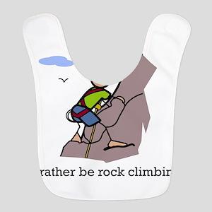 Rock Climbing designs Polyester Baby Bib