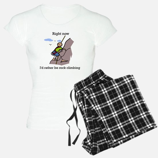 Rock Climbing designs Pajamas