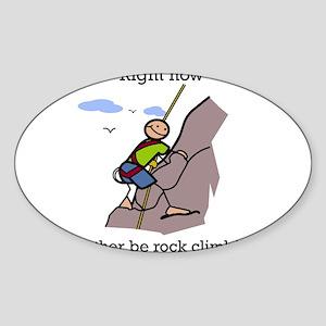 Rock Climbing designs Sticker