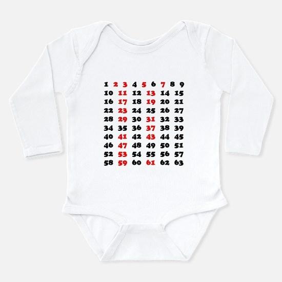 Prime Numbers Infant Bodysuit Body Suit