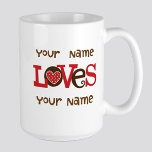 Personalized Love Mugs