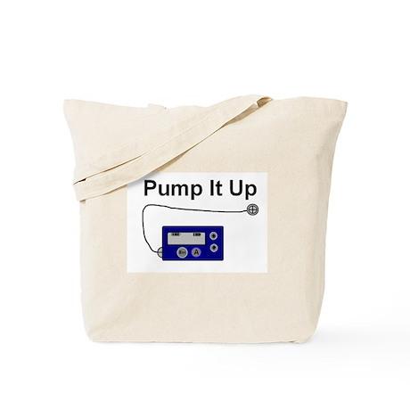 """Pump It Up"" Tote Bag"