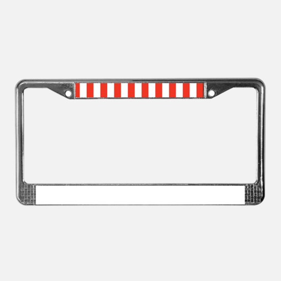 Cute Styles and patterns License Plate Frame