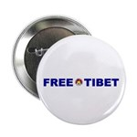 "Free Tibet 2.25"" Button (10 pack)"
