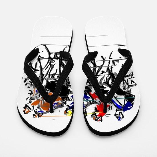 Tour de France Flip Flops