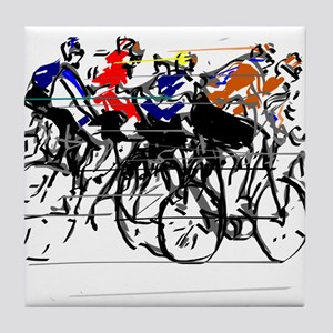Tour de France Tile Coaster