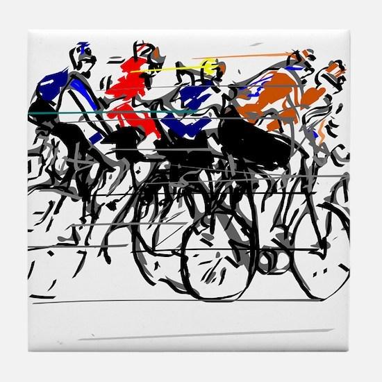 Tour de France Tile Coaster