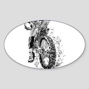 Motor Cross Sticker