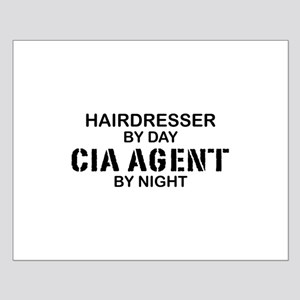 Hairdresser CIA Agent Small Poster