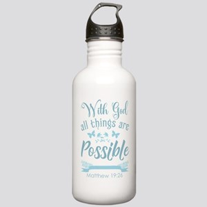 With God Water Bottle