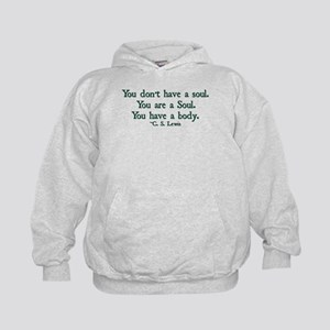 You Don't Have a Soul Kids Hoodie